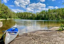 BerniesTrailLife - Canoeing in Sweden